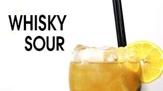 Whiskey Sour Recipe : How To Make A Whiskey Sour