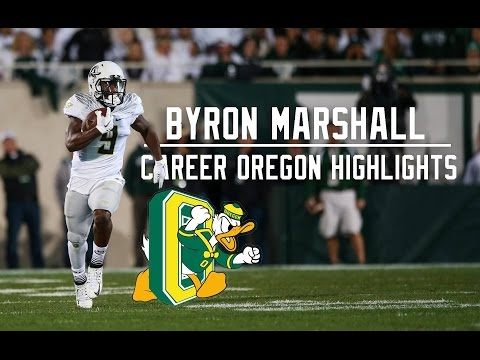Byron Marshall Career Oregon Highlights | Legendaryᴴᴰ