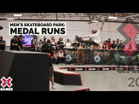 MEDAL RUNS: Men's Skateboard Park | X Games 2021 |