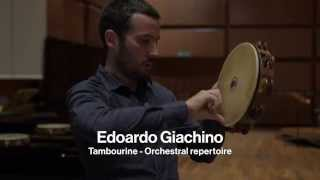 Edoardo Giachino: 2015 Tambourine Sound Solution Project