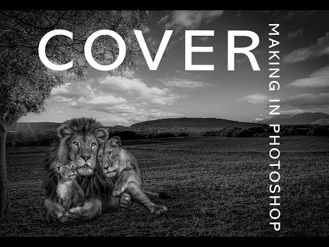 HOW TO MAKE LION FAMLIY COVER PHOTO IN PHOTOSHOP CC 2017