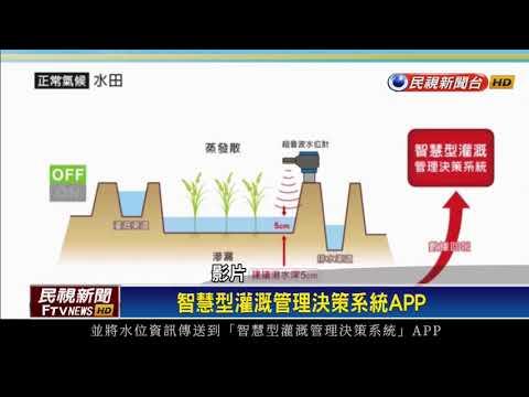 落實農業智慧節水 手機掌握農田用水量-民視新聞