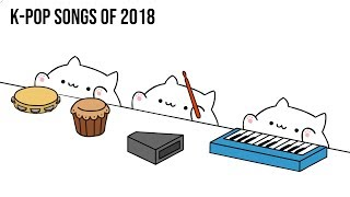 Bongo Cat - K-POP SONGS of 2018