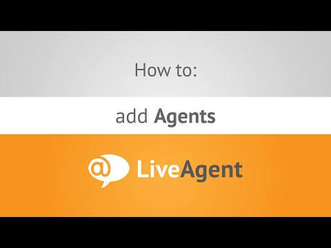 How to add Agents in LiveAgent   www.ladesk.com