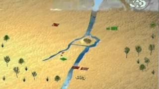 Битва при Кадеше - подробная схема сражения 1274 BC