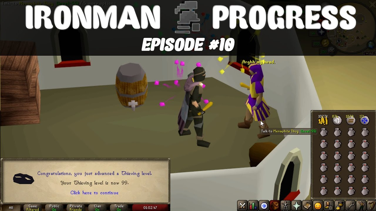 OSRS | First 99 on the Ironman (Set for Cash) - Original Hughes