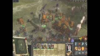Warhammer: Mark of Chaos PC Games Trailer - New gameplay