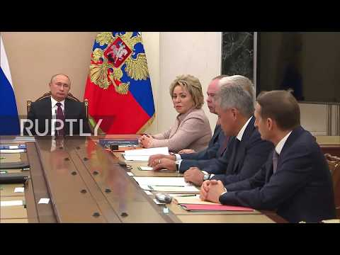 Russia: Shoigu reports to Putin on supply of S-300 to Syria