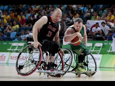 Wheelchair Basketball | Australia vs Japan | Men's preliminaries | Rio 2016 Paralympic Games