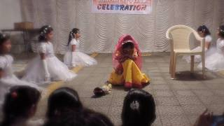 Save the girl child theme dance performance