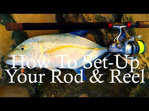 How To Set-Up Your Rod & Reel To Catch Fish!
