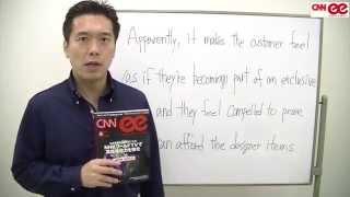 Tad金子のSmart Listening Vol.2 /『CNN english express』2014年8月号 ニュース「高級品を売るコツは「上から目線」の接客!?」より