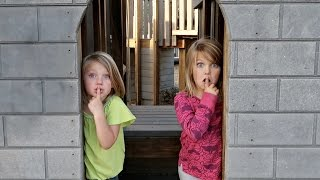 SILLY SARDINES AT A CASTLE PARK! | HIDE AND SEEK!