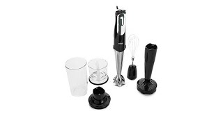 braun multiquick 7 handheld blender with puree tool