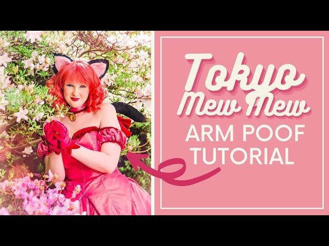 How to Make Tokyo Mew Mew Arm Poofs (+ Choker & Garter)