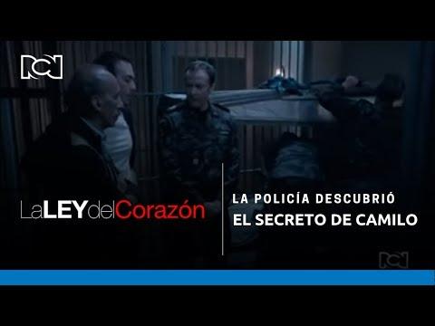 La Ley del Corazón - La policía descubrió el secreto de Camilo