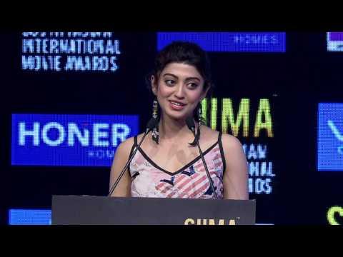 Pranitha at SIIMA 2017 Hyderabad press meet