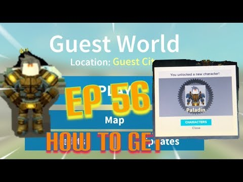 "Roblox- ""Guest World!"" {Episode 56} How To Get Paladin!!!"
