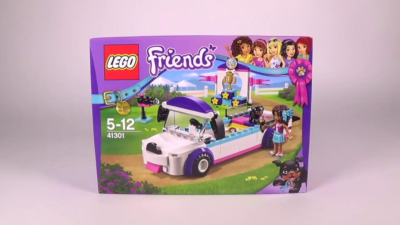 Klocki Lego Friends 41301 Parada Piesków Budujemy Youtube