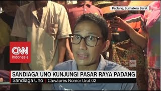 Download Video Sandiaga Uno Kunjungi Pasar Raya Padang MP3 3GP MP4