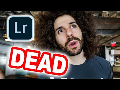 Adobe Lightroom is DEAD!?