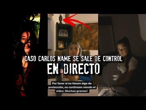Carlos Name se sale de control en DIRECTO   Sesión