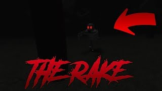 Roblox the rake: blood hour (How to survive)