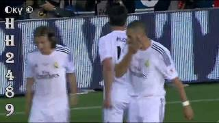 gol di maria barcelona vs real madrid 1 2   barcelona 1x2 madrid   final copa del rey   16 04 2014