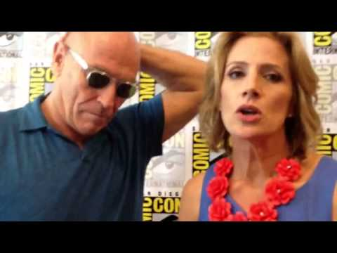 Psych-Costars Corbin Bernsen&Kirsten Nelson interviewed for TVdotCom at Comic Con 2013