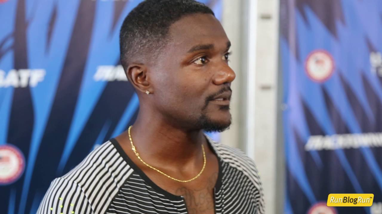 Justin Gatlin @ 2016 USA Olympic Trials (day 2)