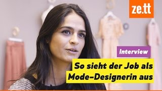 Interview: So sieht der Job als Mode-Designerin aus | Auf Arbeit