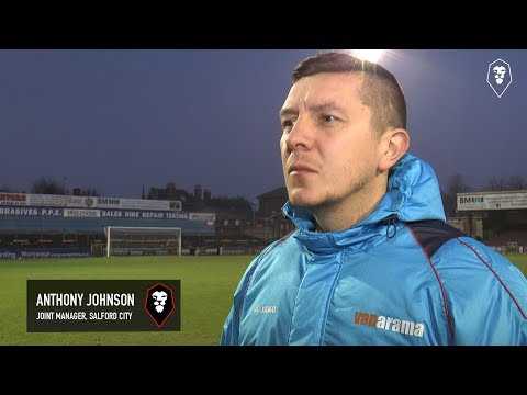 York City 1-0 Salford City - Anthony Johnson post-match interview