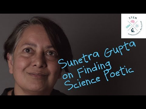 Sunetra Gupta on Finding Science Poetic - YouTube