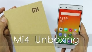 Mi4 Smartphone Unboxing & Overview Indian Retail Unit
