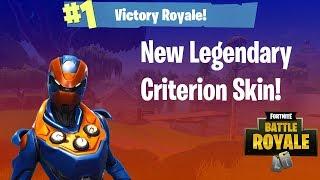 *NEW* CRITERION Skin Gameplay! - Fortnite Battle Royale