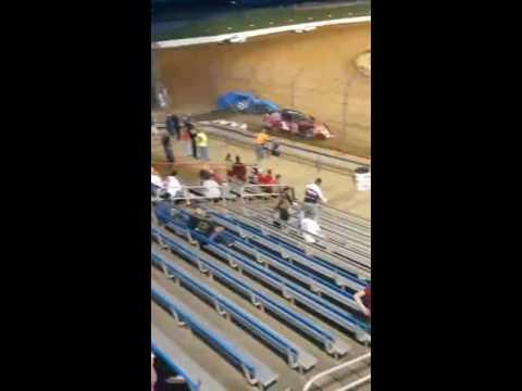 Heat race win. First in the new car. Lucas Oil Speedway 4/23