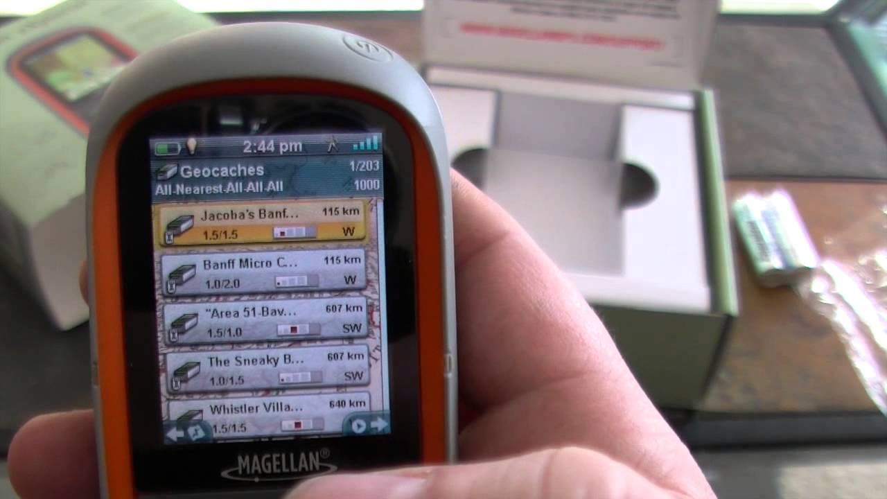 Magellan explorist 310 handheld gps