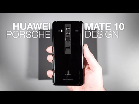 Huawei Mate 10 Porsche Design UNBOXING and Tour