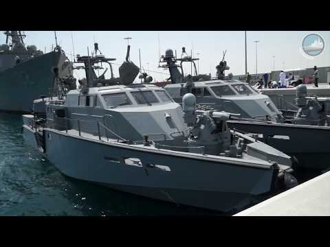 US Navy Mark VI patrol boat at DIMDEX 2018 - Qatar