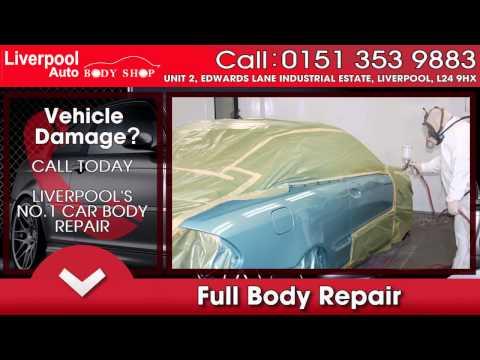 Car Body Repairs Liverpool & Car Body Resprays Liverpool