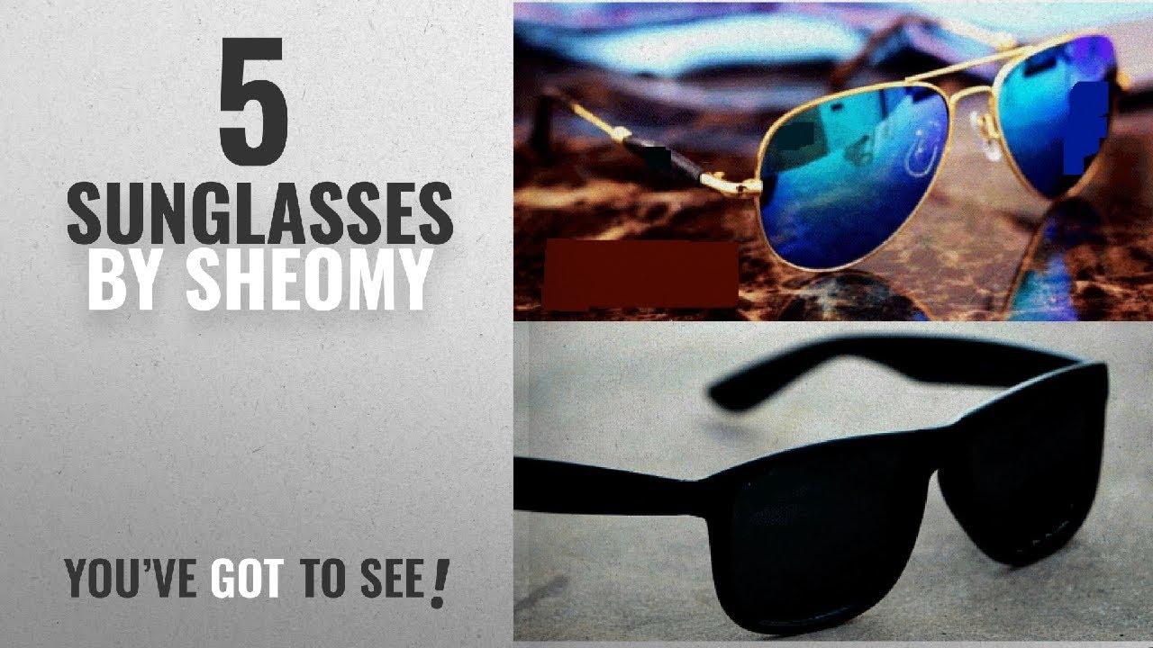 647c5de0e95 Top 10 Sheomy Sunglasses  2018   Sheomy Wayfarer Women s Men s ...