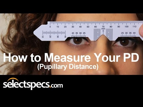 How to Measure Your PD (Pupillary Distance) Updated With Selectspecs.com