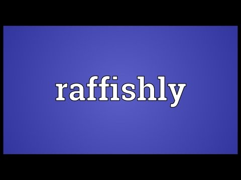 Header of raffishly