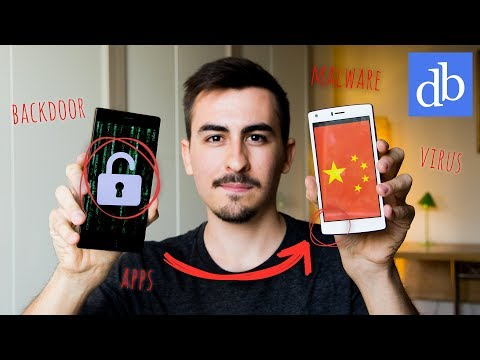 GLI SMARTPHONE CINESI CI SPIANO? Analisi tecnica e RISPOSTE! • Ridble