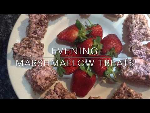 Evening marshmallow treats