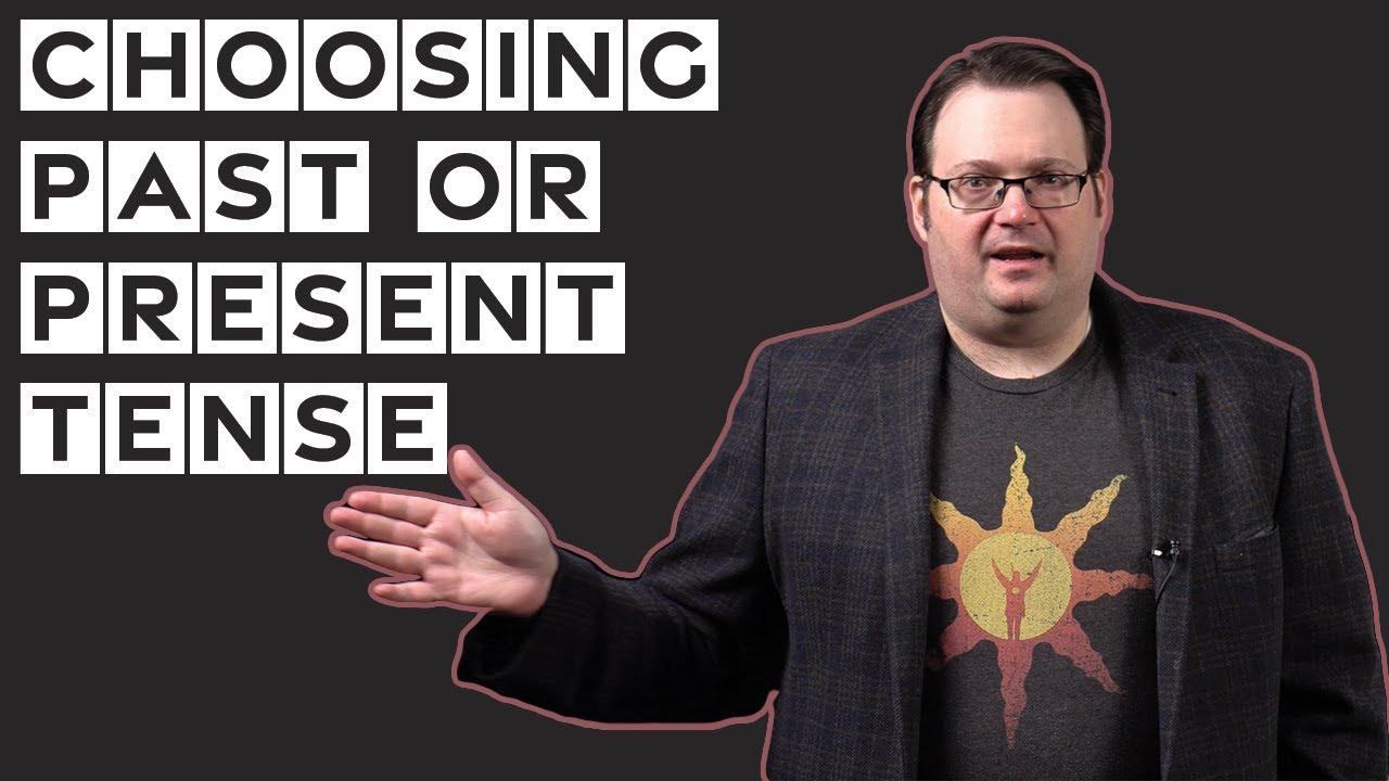 Download Choosing Past or Present Tense—Brandon Sanderson
