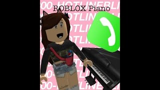 Hotline Bling Roblox Piano - NO ONE HAS DONE THIS SONG? ... Until Now