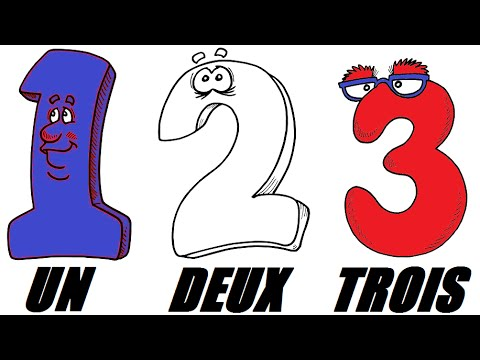 French Numbers Song  Compter de 1 à 10  Les Chiffres et les Nombres en Chanson  Learn French