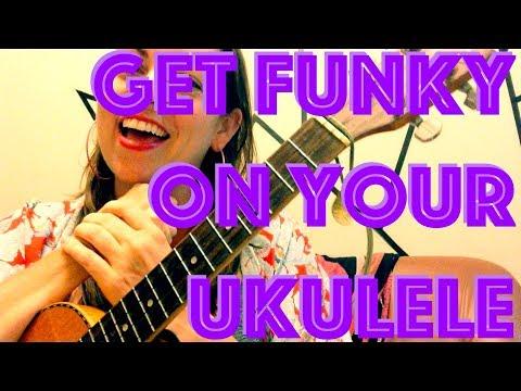 2 CHORD ~ FUNK JAM ~ Ukulele Lesson : How to Play Easy Uke Song / Freestyle / Songwriting / Chords