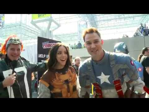 Clark, Chloe, and Gabriel Undercover at ComicCon  Marvel's Agents of S.H.I.E.L.D.
